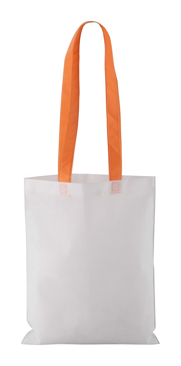Nákupní Taška Rambla - Bílá / Oranžová