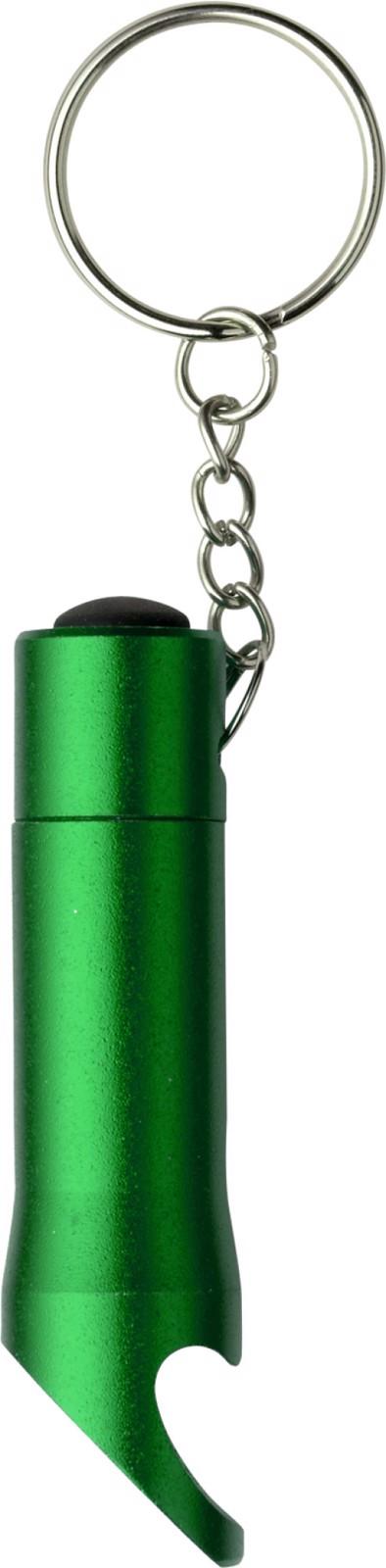 Aluminium 2-in-1 key holder - Light Green