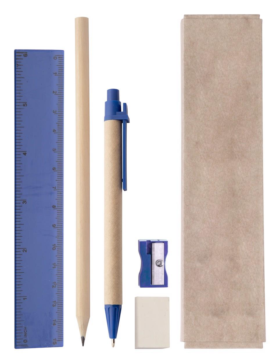 Školní Sada Gabon - Modrá / Přírodní