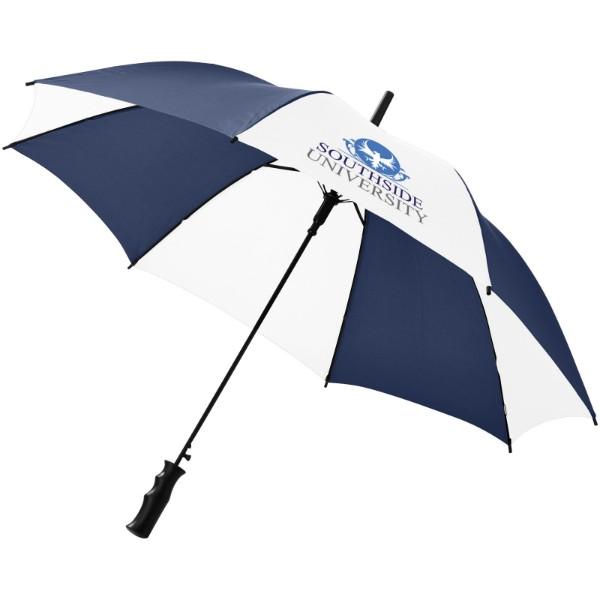 """23"""" deštník Berry s automatickým otvíráním - Navy / Bílá"""