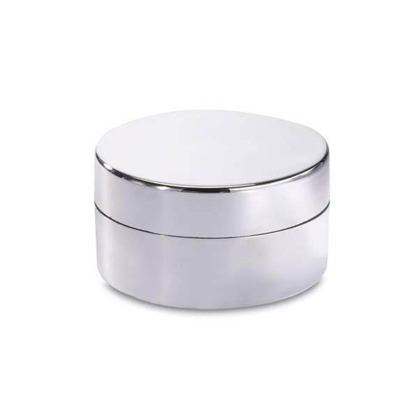 Lip balm in box Balmo - Shiny Silver
