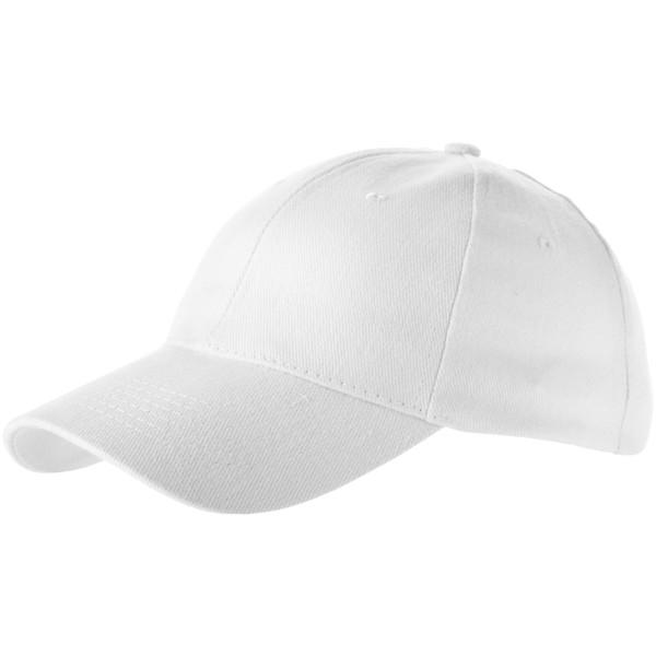 Bryson 6 panel cap - White