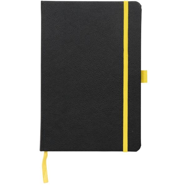 A5 Zápisník Lasercut - Černá / Žlutá