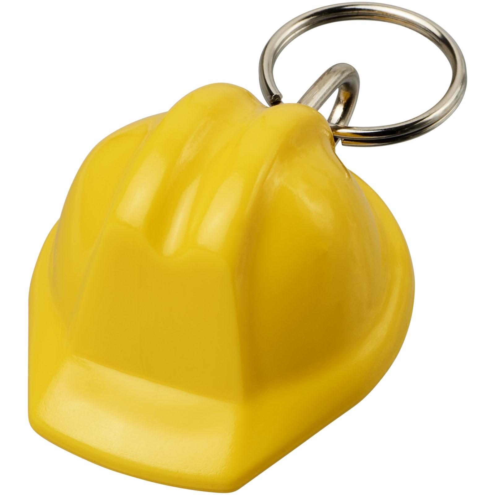 Kolt hard-hat-shaped keychain - Yellow