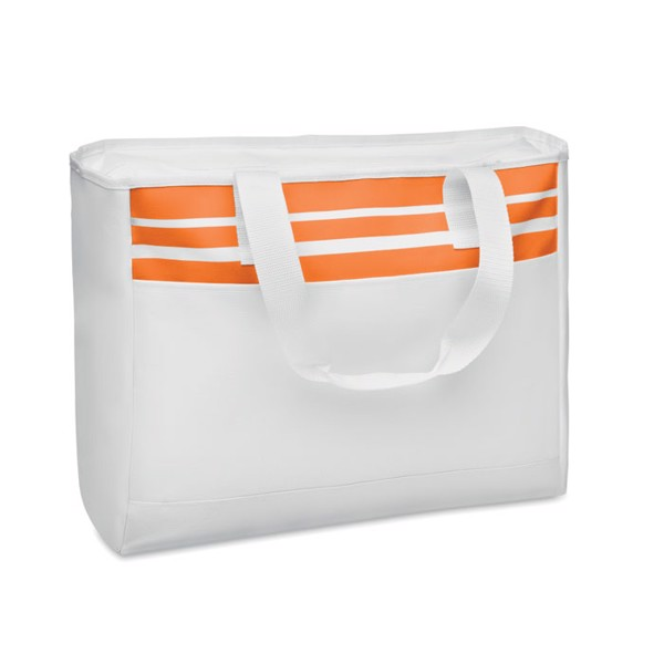 Tote Bag in 600D polyester Tarawa - Orange