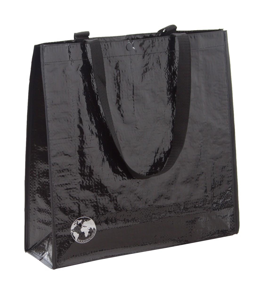 Nákupní Taška Z Recyklovaného Materiálu Recycle - Černá