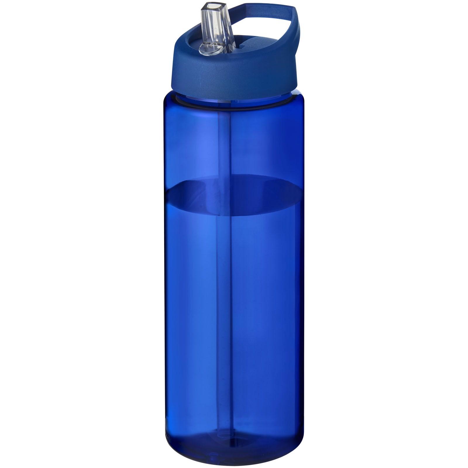 H2O Vibe 850 ml sportovní lahev s víčkem s hubičkou - Modrá