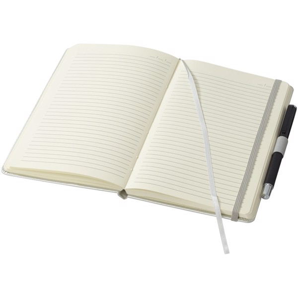 Vignette A5 hard cover notebook - Silver
