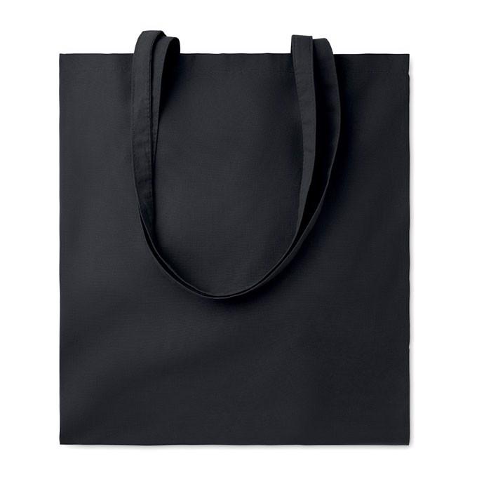 Bawełniana torba na zakupy Cottonel Colour - czarny
