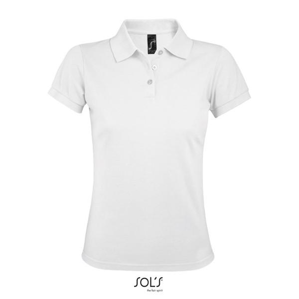 PRIME WOMEN POLO 200gr - White / M