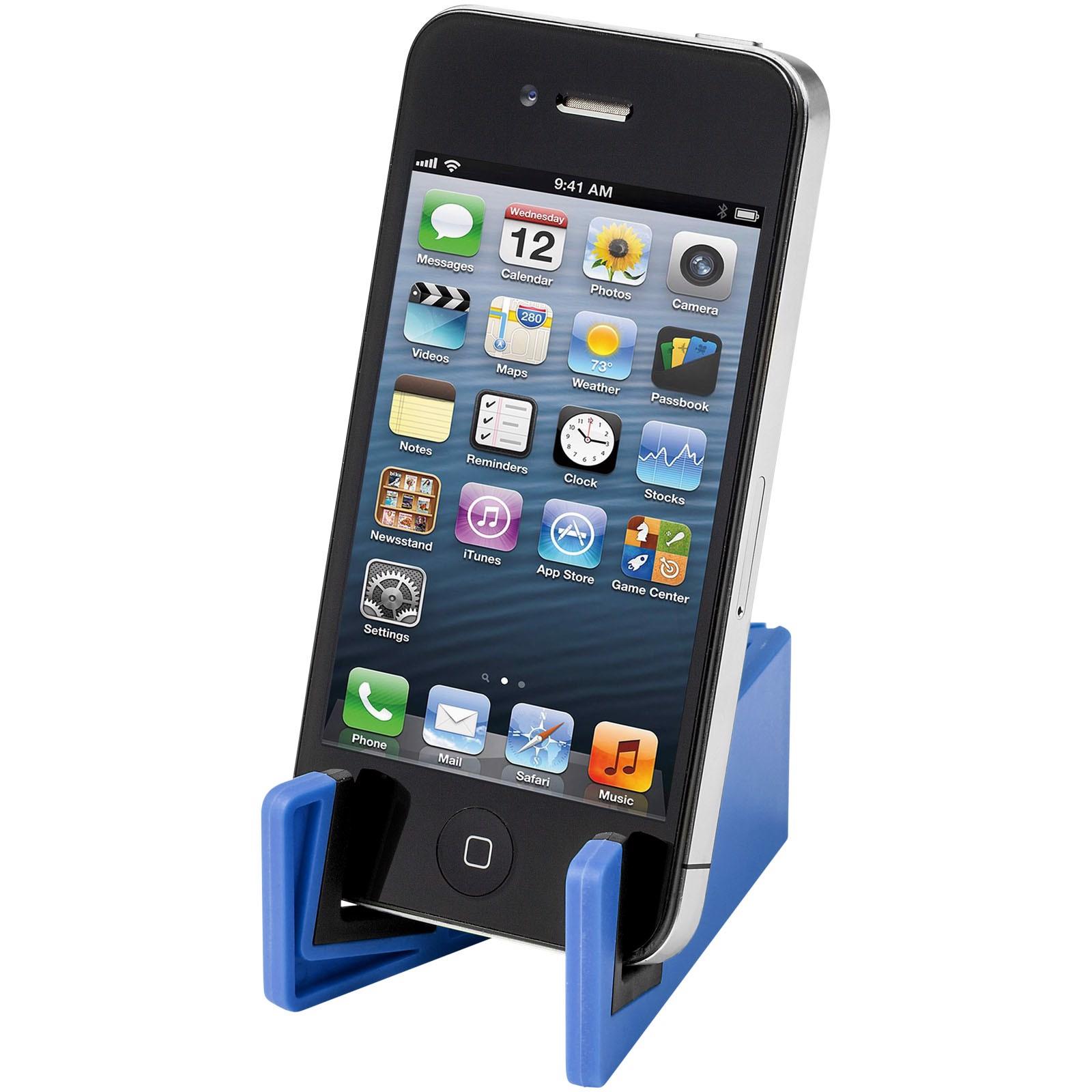 Slim Halterung für Tablets und Smartphones - Royalblau