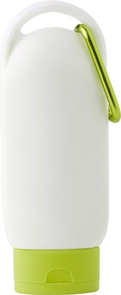 PE sunscreen lotion bottle - Lime