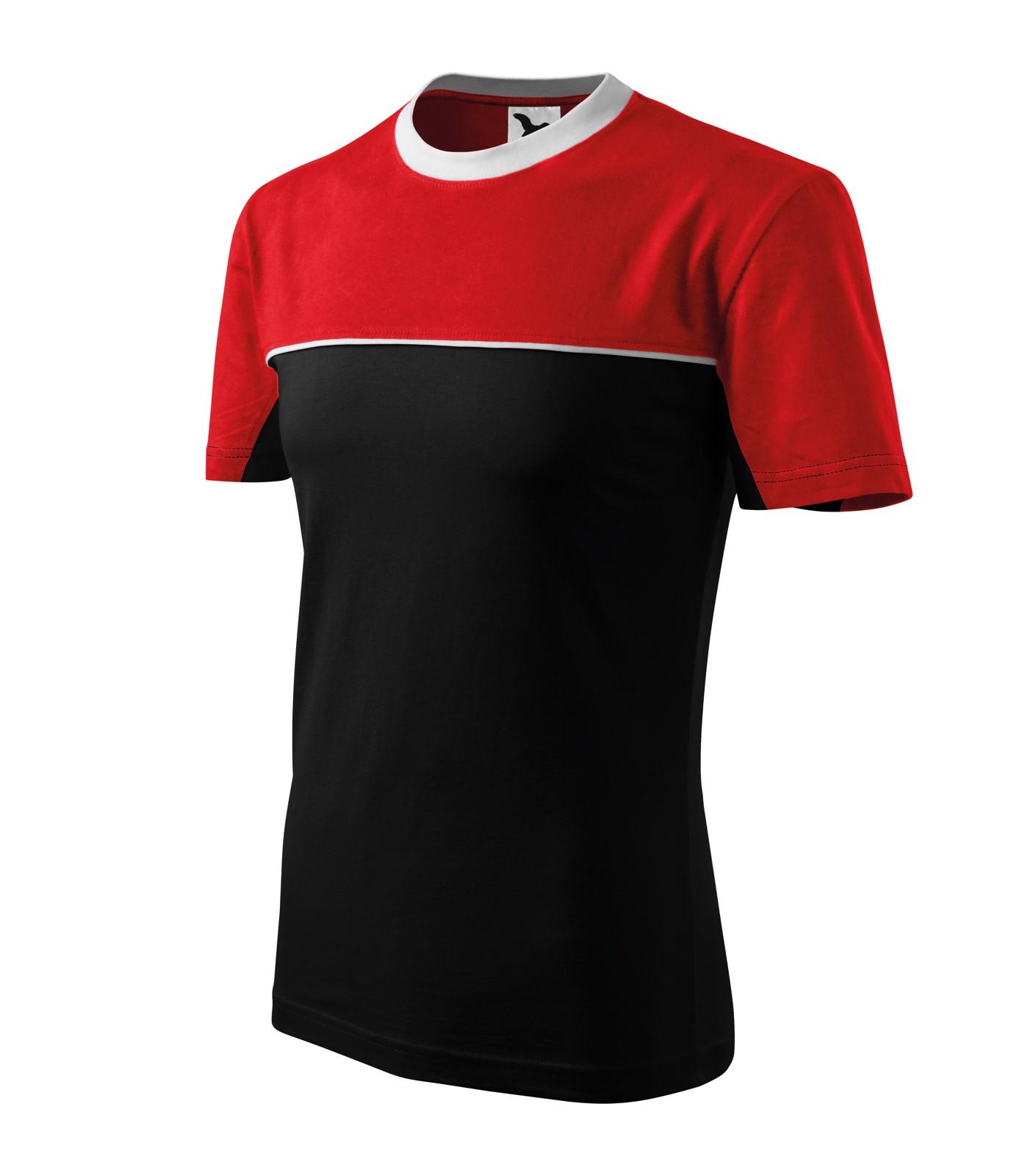 Tričko unisex Malfini Colormix - Černá / 3XL