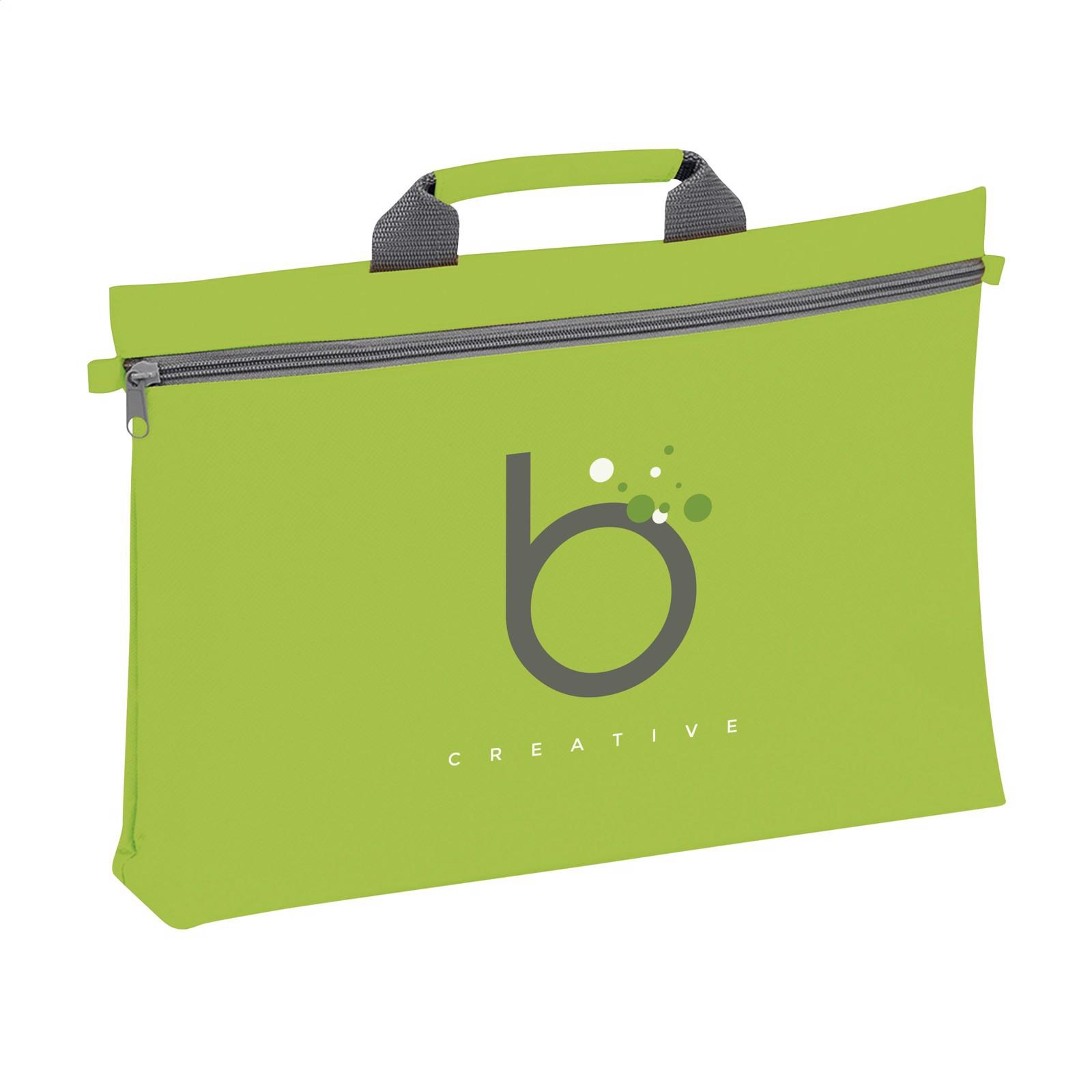 DocuTravel document bag - Lime