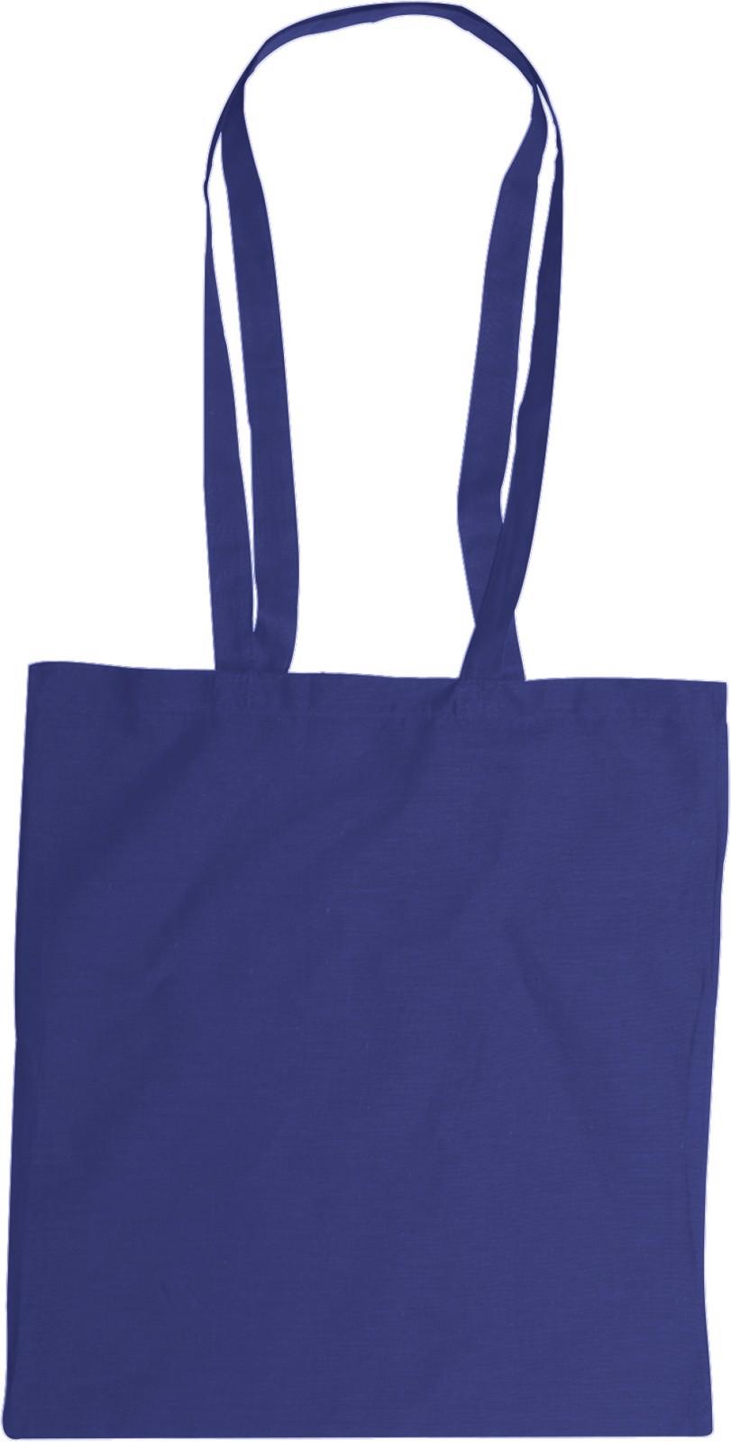 Cotton (110 gr/m²) bag - Blue