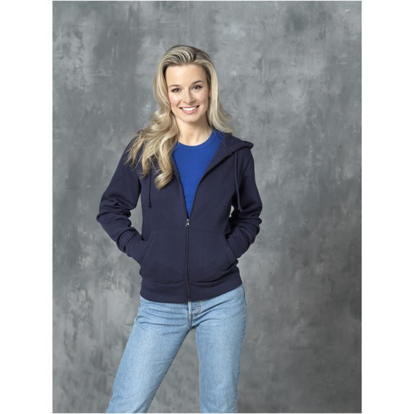 Theron women's full zip hoodie - Navy / 4XL