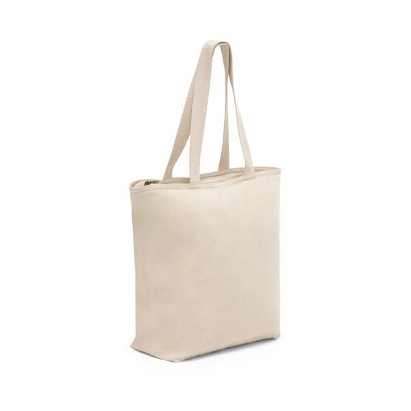 HACKNEY. 100% cotton bag with zipper