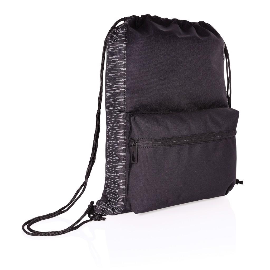 Reflexní šňůrkový batoh z RPET AWARE™