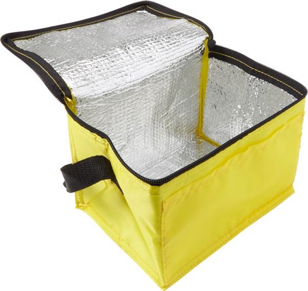 Polyester (210D) cooler bag - Red