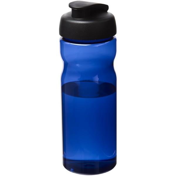 H2O Eco Bidón deportivo con tapa Flip de 650ml - Azul