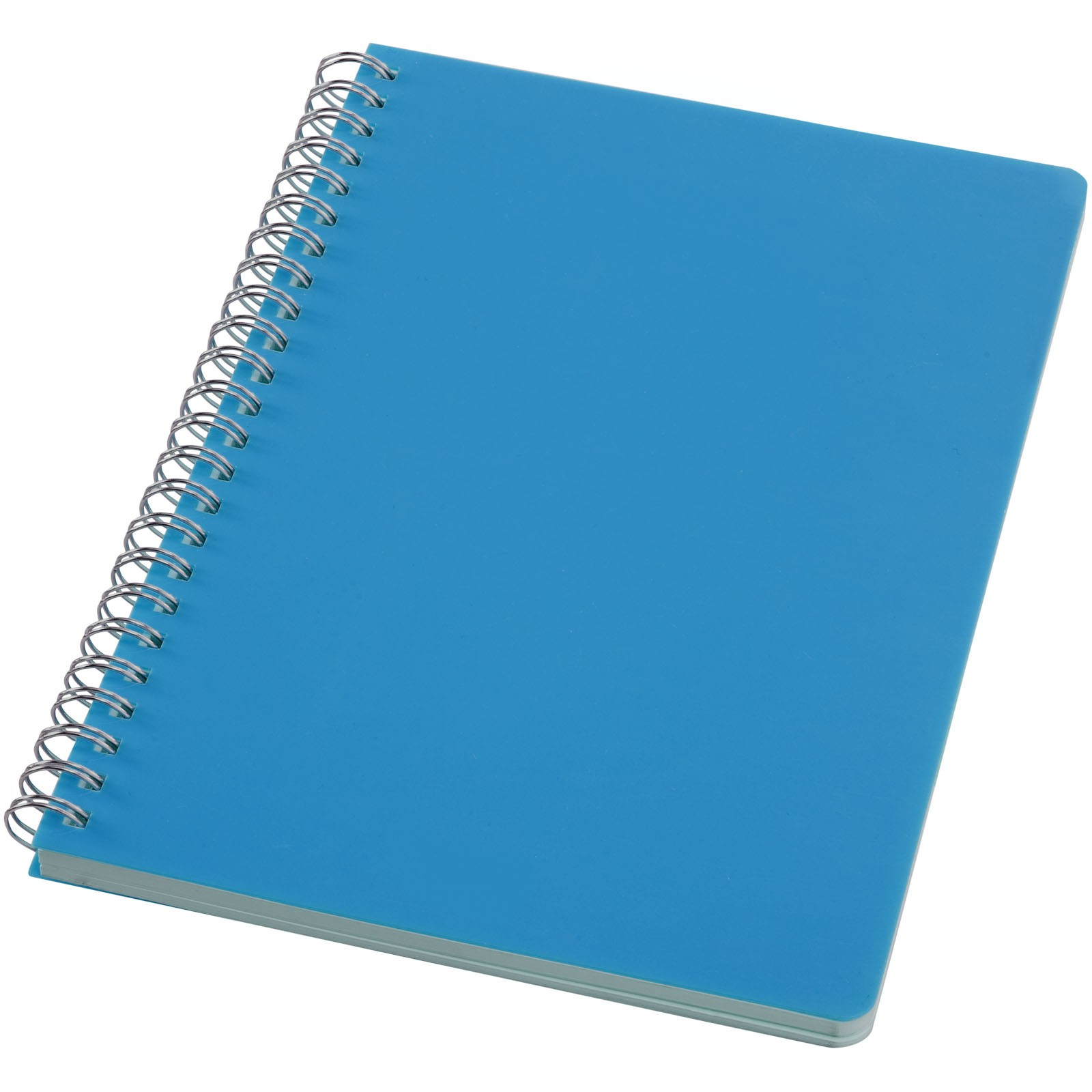 Happy Colors A5 Notizbuch mit Spiralbindung - Hellblau