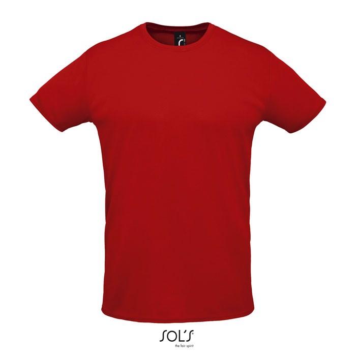 SPRINT CAMISETA UNISEX 130g - Rojo / XL
