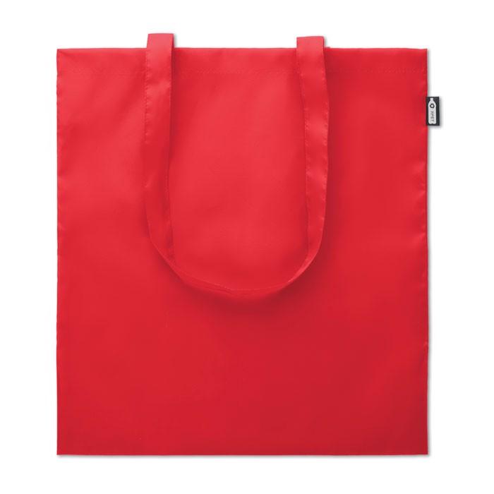 Bolsa de compra de RPET Totepet - rojo