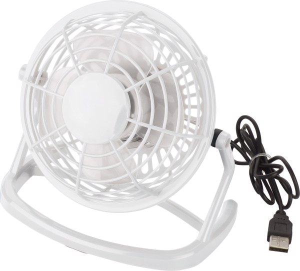 PP desk fan - White