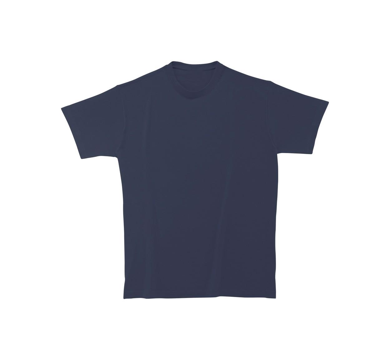 Tričko Heavy Cotton - Tmavě Modrá / S
