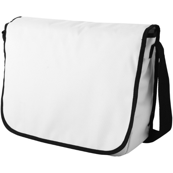 Malibu messenger bag - White