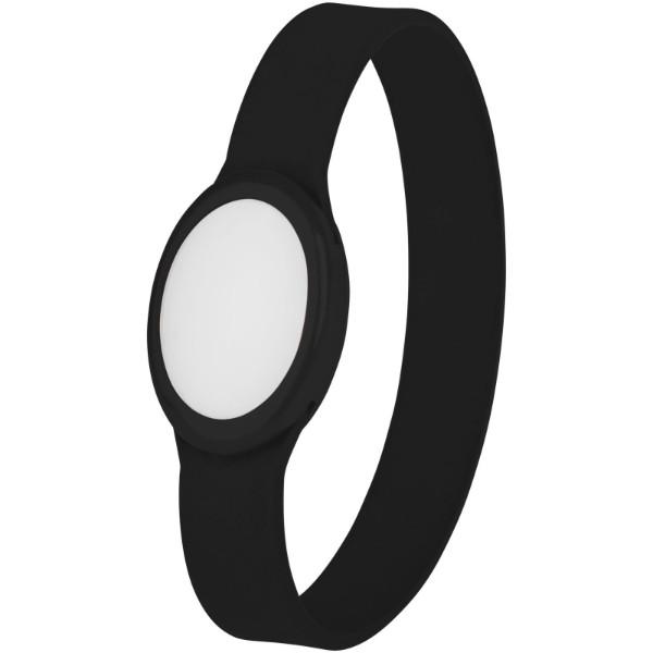 Náramek Tico s barevnými LED - Černá