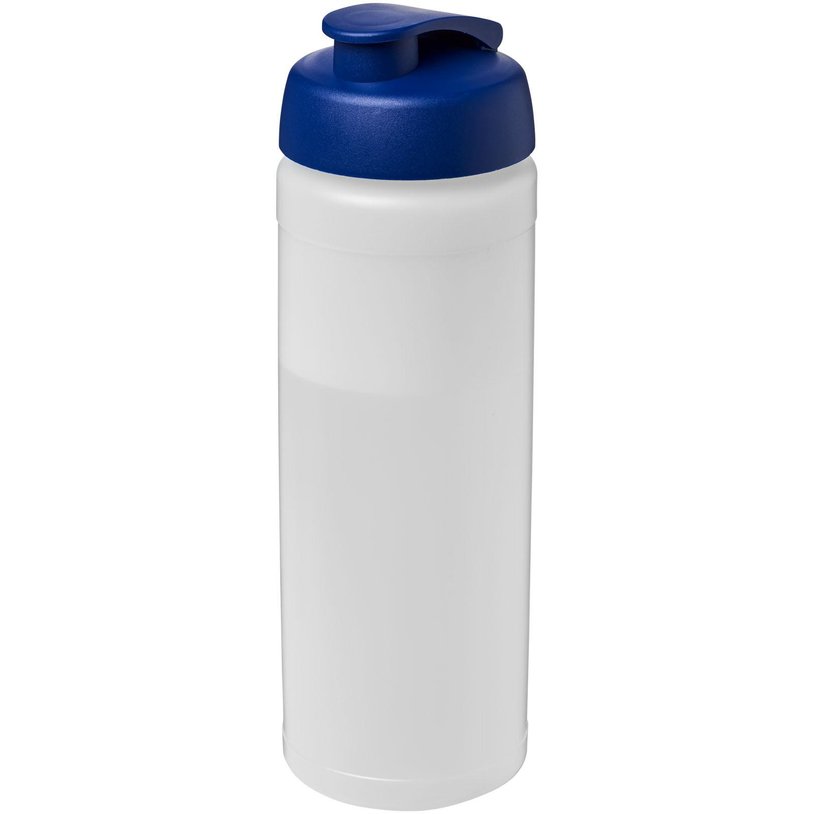 Láhev s vyklápěcím víčkem Baseline® Plus 750 ml - Průhledná / Modrá
