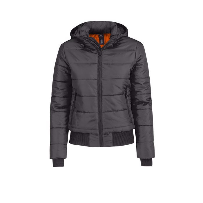 Ladies Winter Jacket 325 g/ Superhood Women Jw941 - Dark Grey / XS