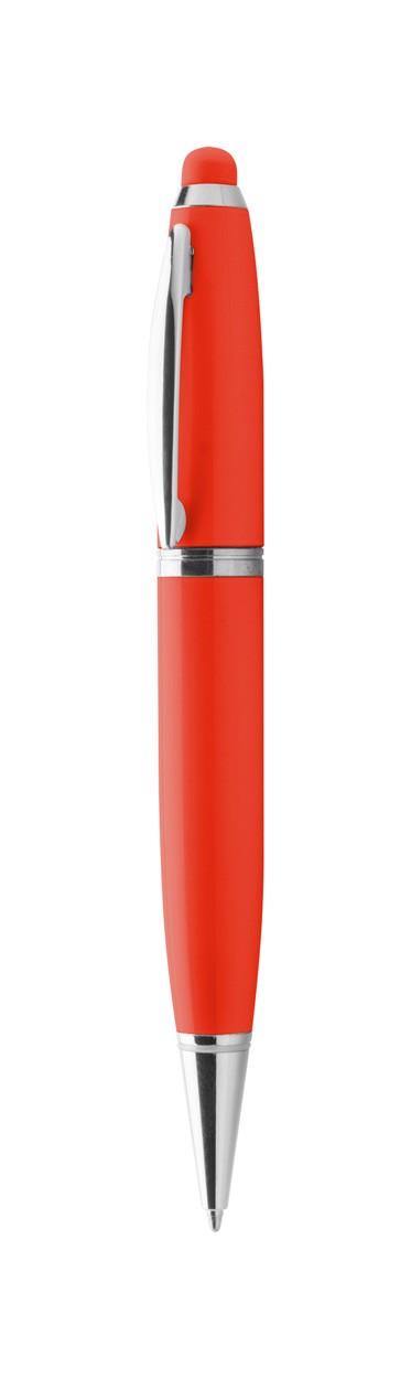 Usb Dotykové Pero Sivart 16Gb - Červená / 16GB