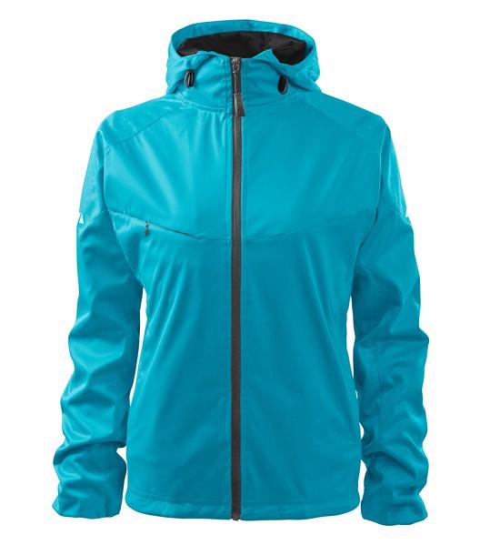 Softshell Jacket women's Malfini Cool - Blue Atoll / S