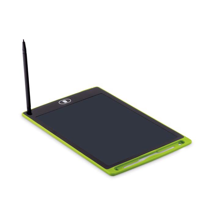 Tablet LCD do pisania Black - limonka