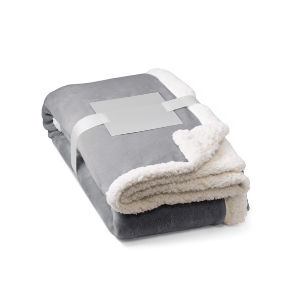 HEIDEN. Polar blanket 225 g/m² - Grey