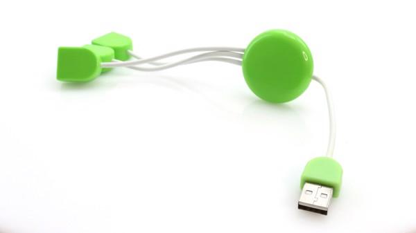 Puerto USB Pod - Blanco