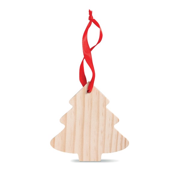 Pine tree shaped wooden hanger Wootree