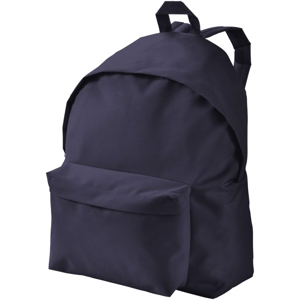 Urban covered zipper backpack - Navy
