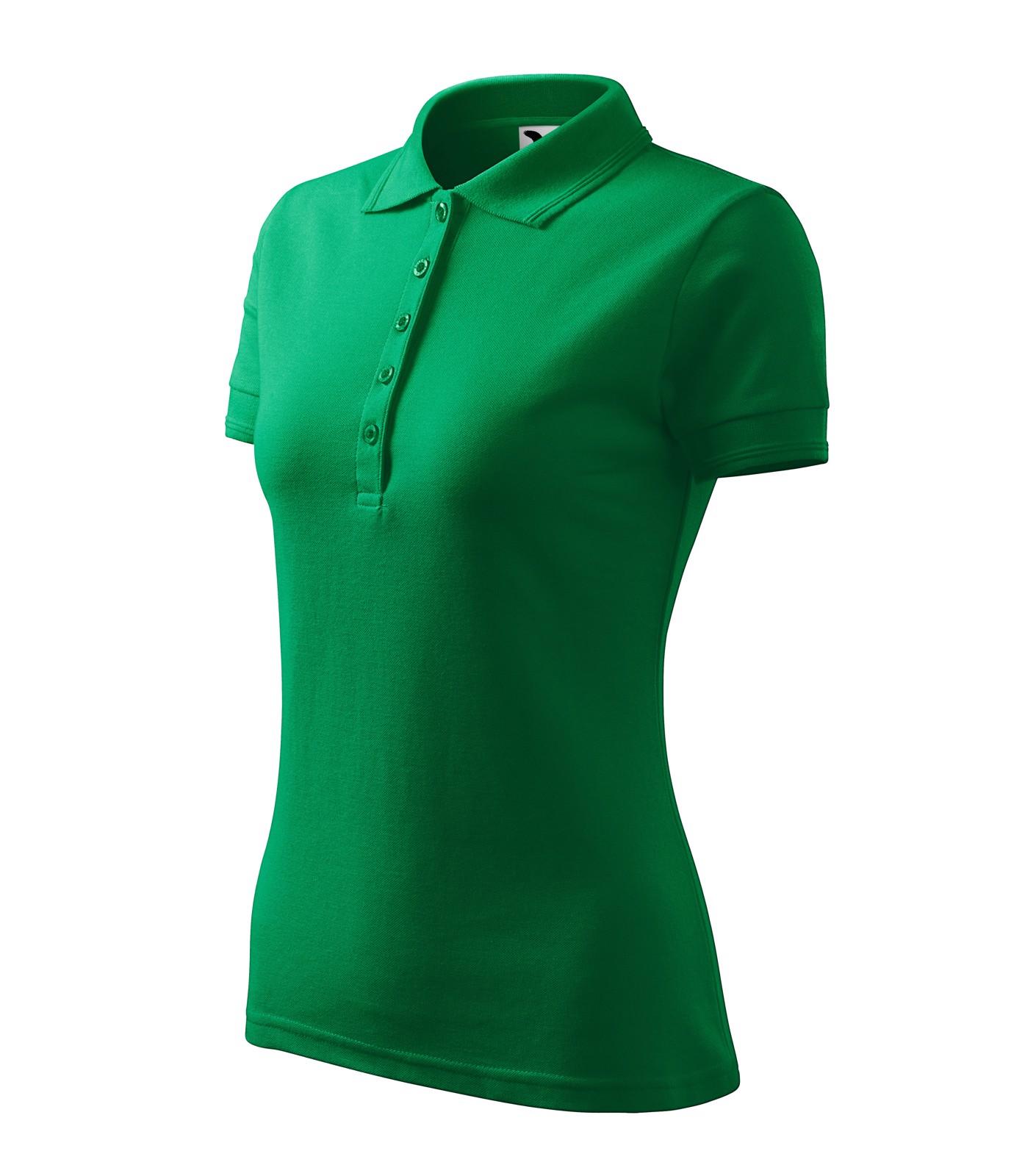 Polo Shirt women's Malfini Pique Polo - Kelly Green / XL