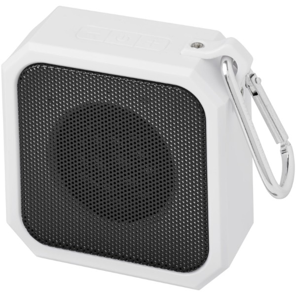 "Altavoz Bluetooth® para exteriores ""Blackwater"" - Blanco"