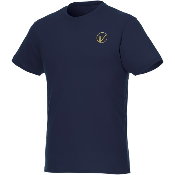 Jade short sleeve men's GRS recycled T-shirt - Navy / M