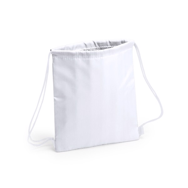 Drawstring Cool Bag Tradan - White