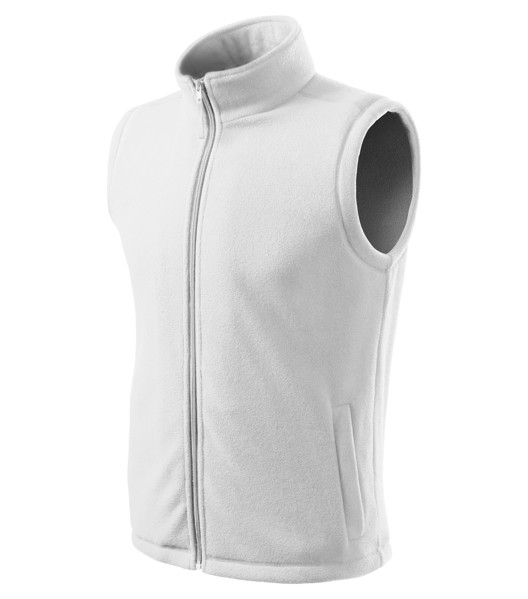 Fleece Vest unisex Rimeck Next - White / 2XL