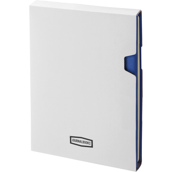 Doppio A5 Soft Cover Notizbuch - Navy / Grau