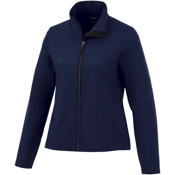 Karmine women's softshell jacket - Navy / XL