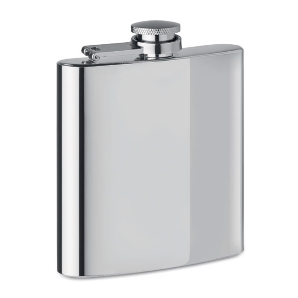 Placatka Slimmy Flask + - matt silver