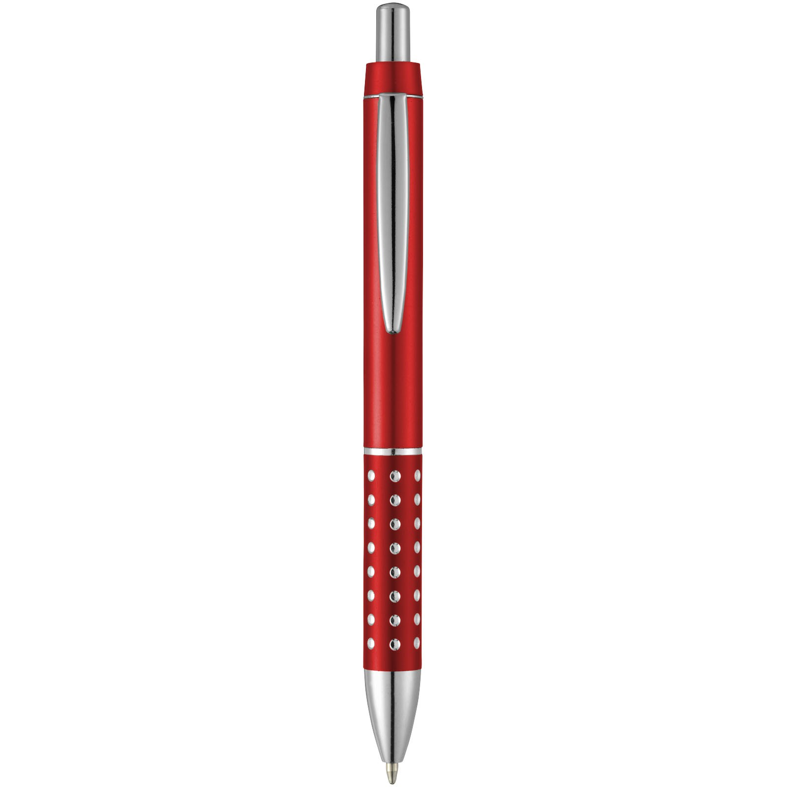 Kuličkové pero Bling - Červená s efektem námrazy
