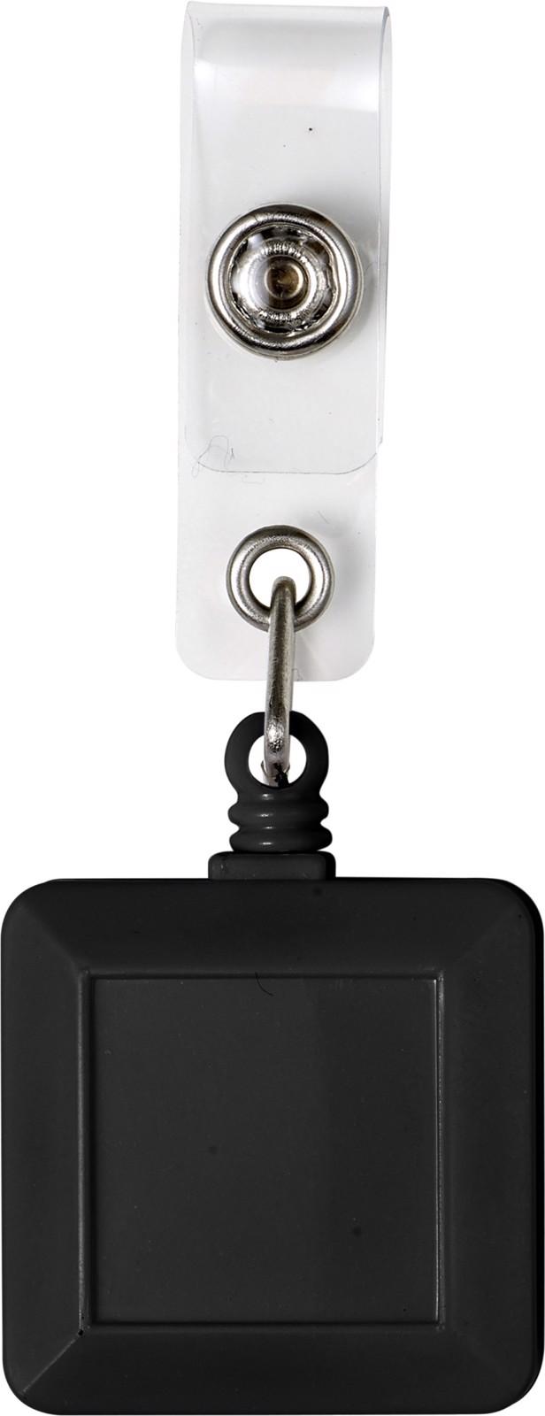 ABS name card holder - Black